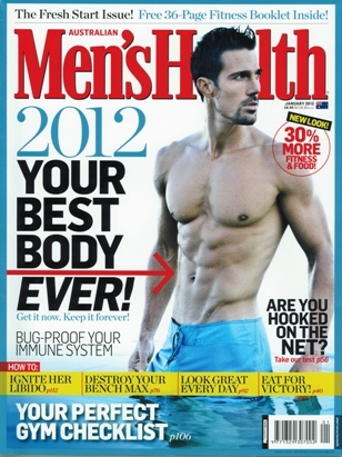 Mens Health - Your New Age Remedy - Jan 2012